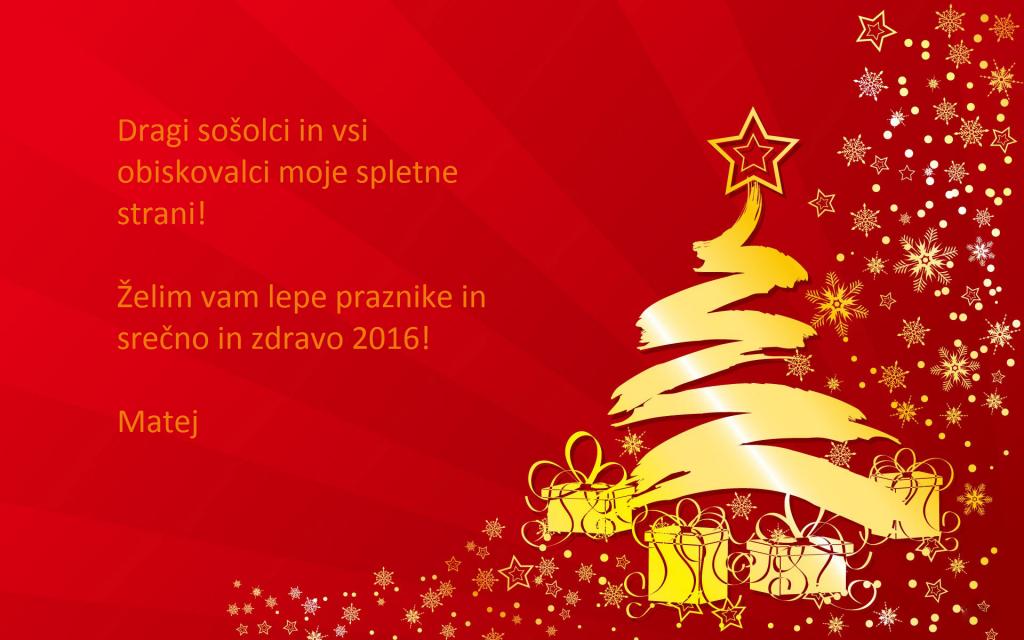 Božično voščilo (1)